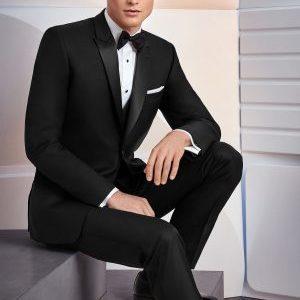 Skinny Fit Black Tuxedo