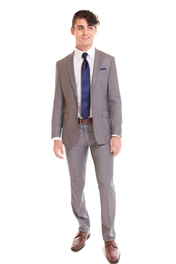 David Major Select Light Grey Suit