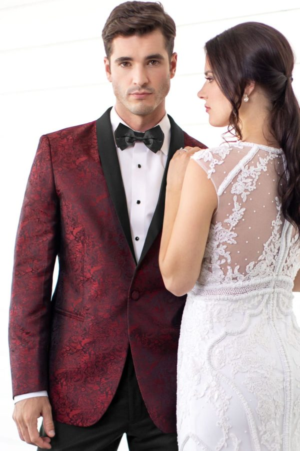 Mark of distinction Apple Red Paisley